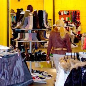 Магазины одежды и обуви Кочубеевского